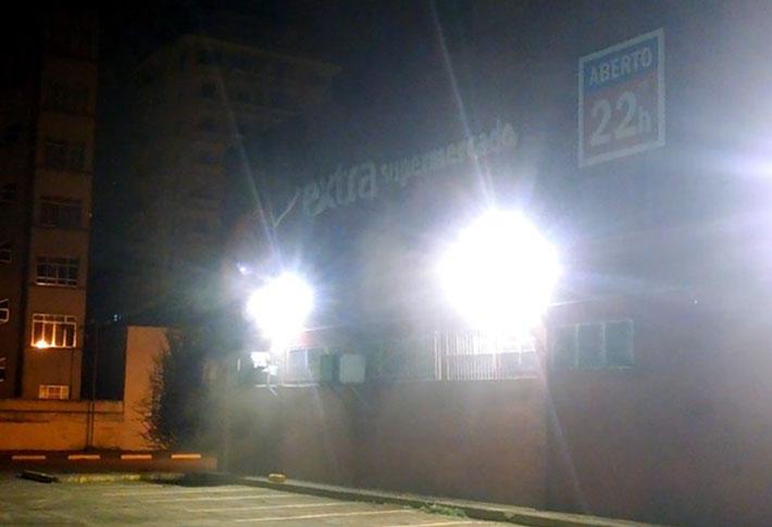 Incêndio Supermercado em São Vicente - SP