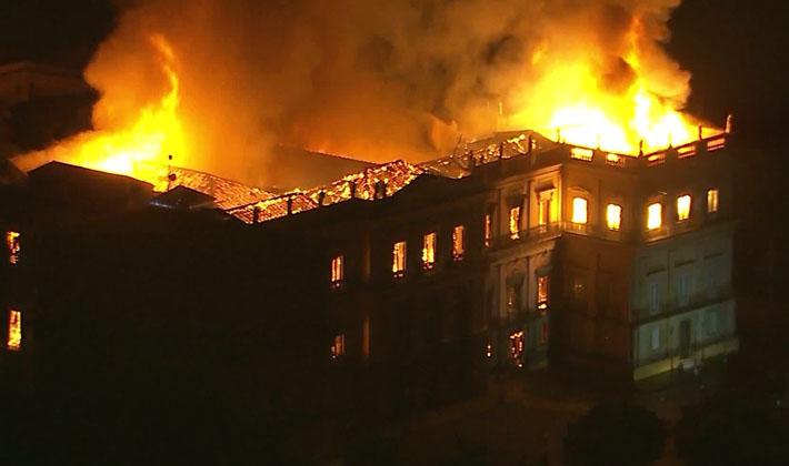 Incêndio Museu Nacional RJ